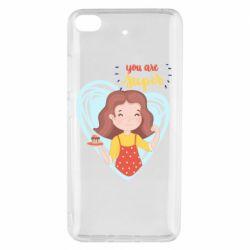 Чехол для Xiaomi Mi 5s You are super girl