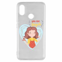 Чехол для Xiaomi Mi8 You are super girl
