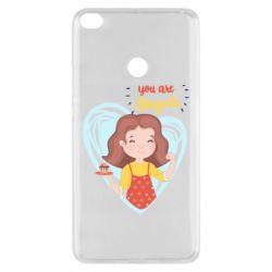 Чехол для Xiaomi Mi Max 2 You are super girl
