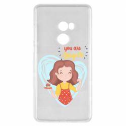 Чехол для Xiaomi Mi Mix 2 You are super girl