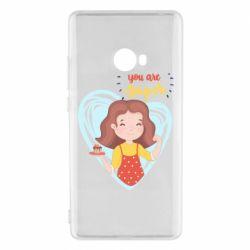 Чехол для Xiaomi Mi Note 2 You are super girl