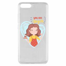 Чехол для Xiaomi Mi Note 3 You are super girl