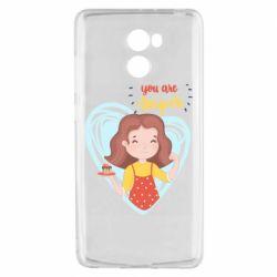 Чехол для Xiaomi Redmi 4 You are super girl