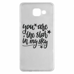 Чехол для Samsung A5 2016 You are the star in my sky