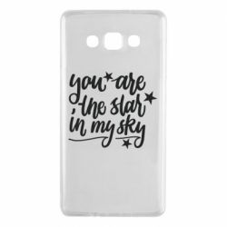 Чехол для Samsung A7 2015 You are the star in my sky