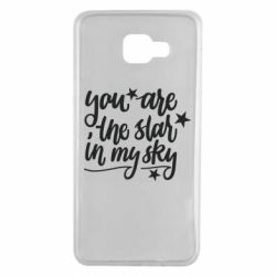 Чехол для Samsung A7 2016 You are the star in my sky