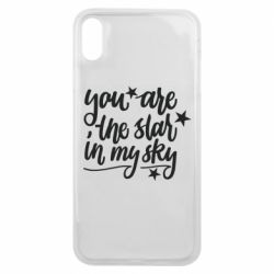 Чехол для iPhone Xs Max You are the star in my sky