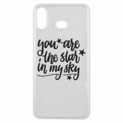 Чехол для Samsung A6s You are the star in my sky