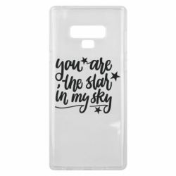 Чехол для Samsung Note 9 You are the star in my sky
