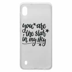 Чехол для Samsung A10 You are the star in my sky