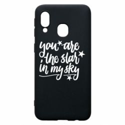 Чехол для Samsung A40 You are the star in my sky
