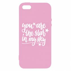 Чехол для iPhone5/5S/SE You are the star in my sky