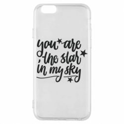 Чохол для iPhone 6/6S You are the star in my sky