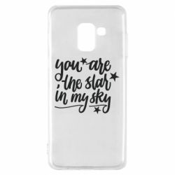 Чехол для Samsung A8 2018 You are the star in my sky