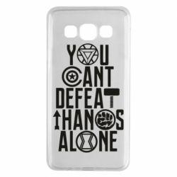 Чехол для Samsung A3 2015 You can't defeat thanos alone