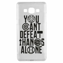 Чехол для Samsung A5 2015 You can't defeat thanos alone