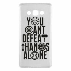 Чехол для Samsung A7 2015 You can't defeat thanos alone