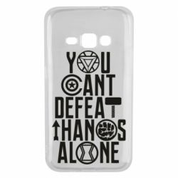 Чехол для Samsung J1 2016 You can't defeat thanos alone
