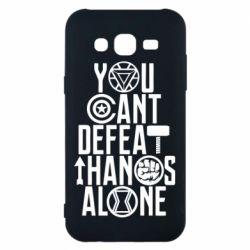 Чехол для Samsung J5 2015 You can't defeat thanos alone