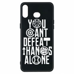 Чехол для Samsung A6s You can't defeat thanos alone