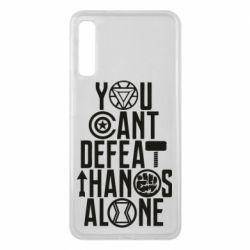 Чехол для Samsung A7 2018 You can't defeat thanos alone