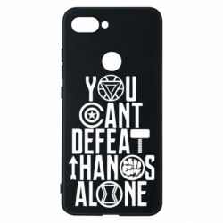 Чехол для Xiaomi Mi8 Lite You can't defeat thanos alone