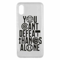 Чехол для Xiaomi Mi8 Pro You can't defeat thanos alone