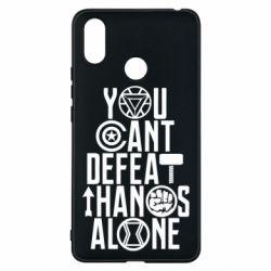 Чехол для Xiaomi Mi Max 3 You can't defeat thanos alone