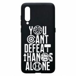 Чехол для Xiaomi Mi9 You can't defeat thanos alone