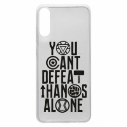 Чехол для Samsung A70 You can't defeat thanos alone