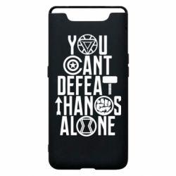Чехол для Samsung A80 You can't defeat thanos alone