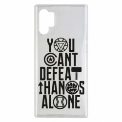 Чехол для Samsung Note 10 Plus You can't defeat thanos alone