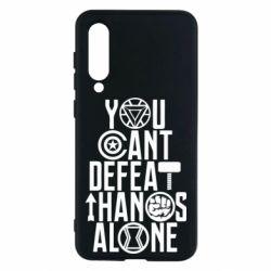 Чехол для Xiaomi Mi9 SE You can't defeat thanos alone