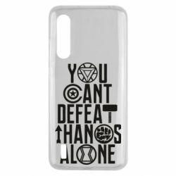 Чехол для Xiaomi Mi9 Lite You can't defeat thanos alone
