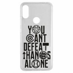 Чехол для Xiaomi Redmi Note 7 You can't defeat thanos alone
