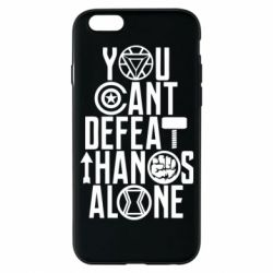 Чехол для iPhone 6/6S You can't defeat thanos alone