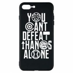 Чехол для iPhone 8 Plus You can't defeat thanos alone