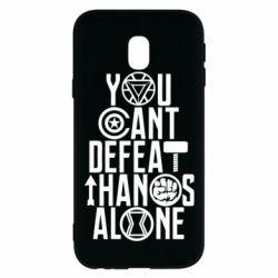 Чехол для Samsung J3 2017 You can't defeat thanos alone