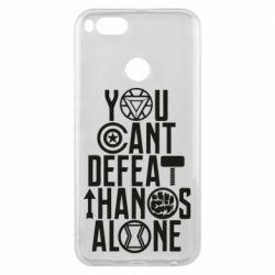 Чехол для Xiaomi Mi A1 You can't defeat thanos alone