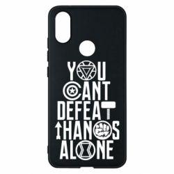 Чехол для Xiaomi Mi A2 You can't defeat thanos alone