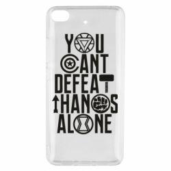 Чехол для Xiaomi Mi 5s You can't defeat thanos alone