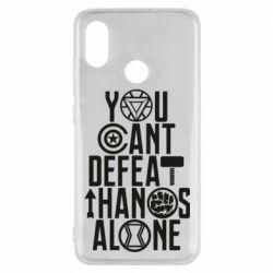 Чехол для Xiaomi Mi8 You can't defeat thanos alone