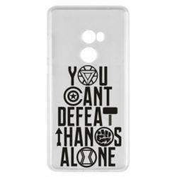 Чехол для Xiaomi Mi Mix 2 You can't defeat thanos alone