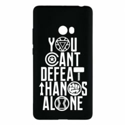 Чехол для Xiaomi Mi Note 2 You can't defeat thanos alone