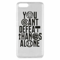 Чехол для Xiaomi Mi Note 3 You can't defeat thanos alone