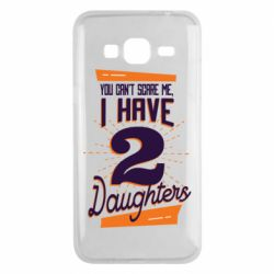 Чехол для Samsung J3 2016 You can't scare me i have 2 daughters