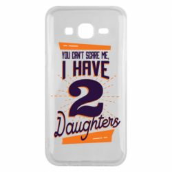 Чехол для Samsung J5 2015 You can't scare me i have 2 daughters