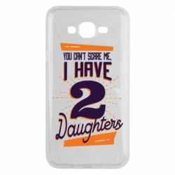 Чехол для Samsung J7 2015 You can't scare me i have 2 daughters
