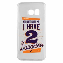 Чехол для Samsung S6 EDGE You can't scare me i have 2 daughters