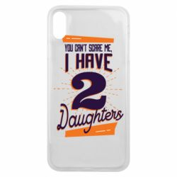 Чехол для iPhone Xs Max You can't scare me i have 2 daughters